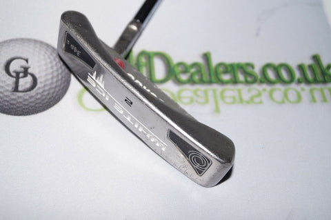 "Odyssey White Ice 2 340g Putter 35"" - Golfdealers.co.uk"