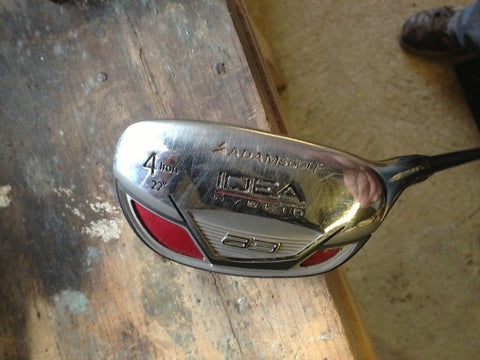 ADAMS IDEA A3 4H HYBRID / RESCUE - ALDILA SHAFT - X-STIFF - Golfdealers.co.uk