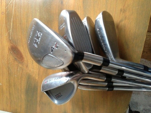 Adams Idea Iron Set 3&4 Hybrid Clubs 5-PW Irons - Golfdealers.co.uk