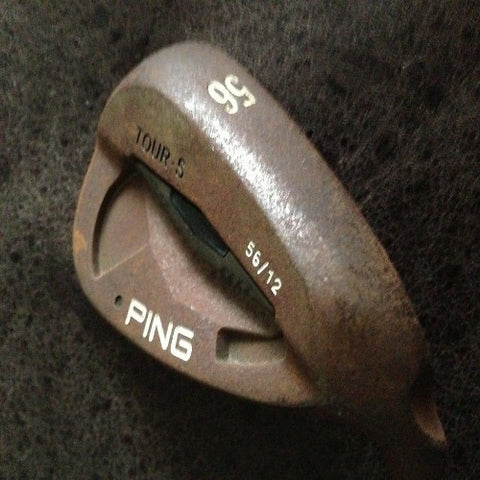 PING TOUR-S 56 DEG SAND WEDGE - BLACK DOT - Golfdealers.co.uk