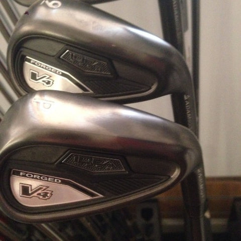ADAMS V4 FORGED IRONS - 3,4,5 HYBRIDS - GRAPHITE - Golfdealers.co.uk