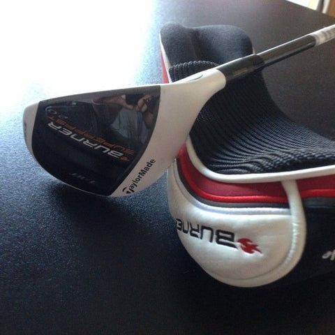 TAYLORMADE BURNER SUPERFAST 2.0 NO.3 18 DEG HYBRID - EX DEMONSTRATION - Golfdealers.co.uk