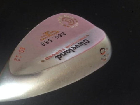 CLEVELAND REG.588 FORGED TOUR ZIP GROOVES LOB WEDGE 60 DEG - Golfdealers.co.uk