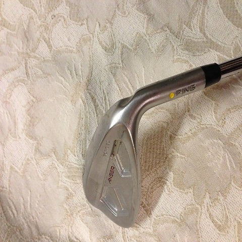 PING ANSER FORGED 52 DEG GAP WEDGE - SPINNER SHAFT - YELLOW DOT - Golfdealers.co.uk