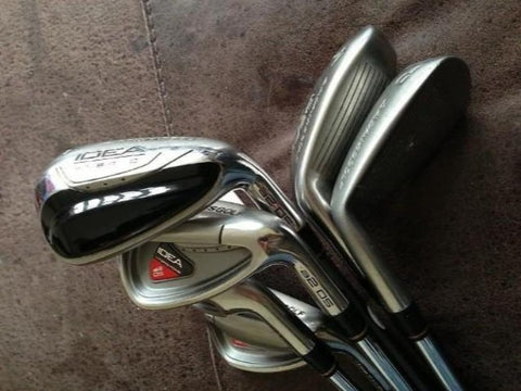 ADAMS IDEA A2 OS IRONS 4,5,6 HYBRID 7-PW - Golfdealers.co.uk