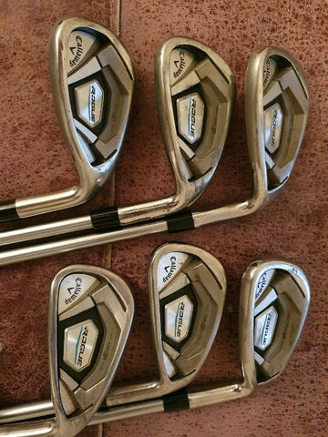 Callaway Rogue Ladies Irons 6-PW+AW - Pre Owned Golf Clubs