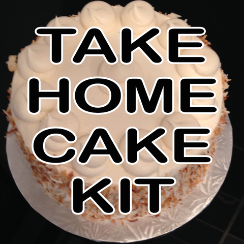 Take Home Cake Kit