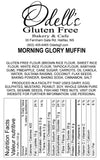 Morning Glory Muffins under 6 Pieces Taxable