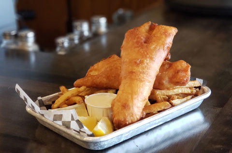 3 Piece Fish & Chips