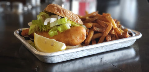 Fish Burger & Chips