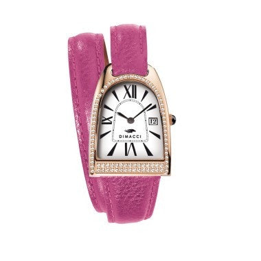 Nicy Queen II Luxury Fuschia Watch
