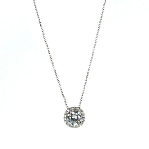 Round Cut Necklace