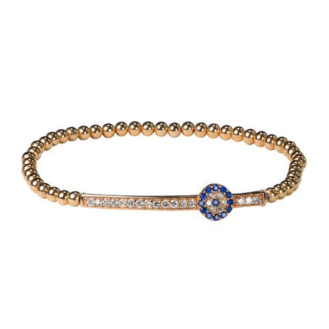Stretch Evil Eye Bracelet