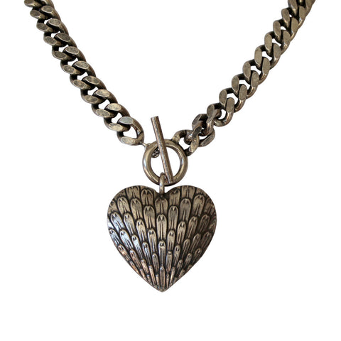Heart Toggle Necklac