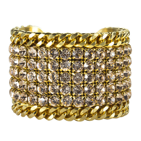 Antique Metallic Gold Cuff