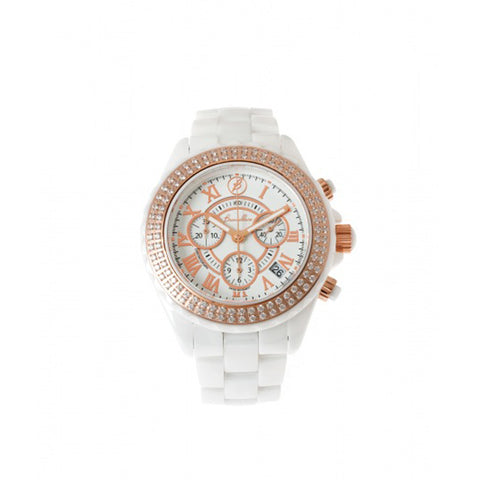 Ceramic Watch with Swarovski Crystals