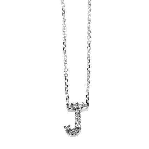 """J"" Initial Necklace"