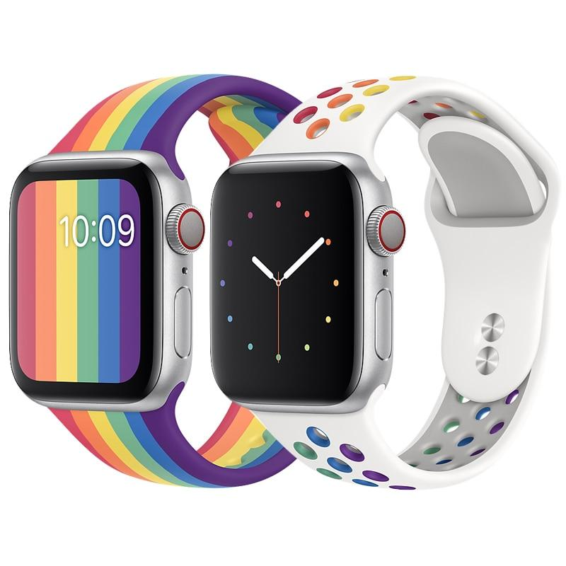 Pride Edition Silicone Band for Apple Watch