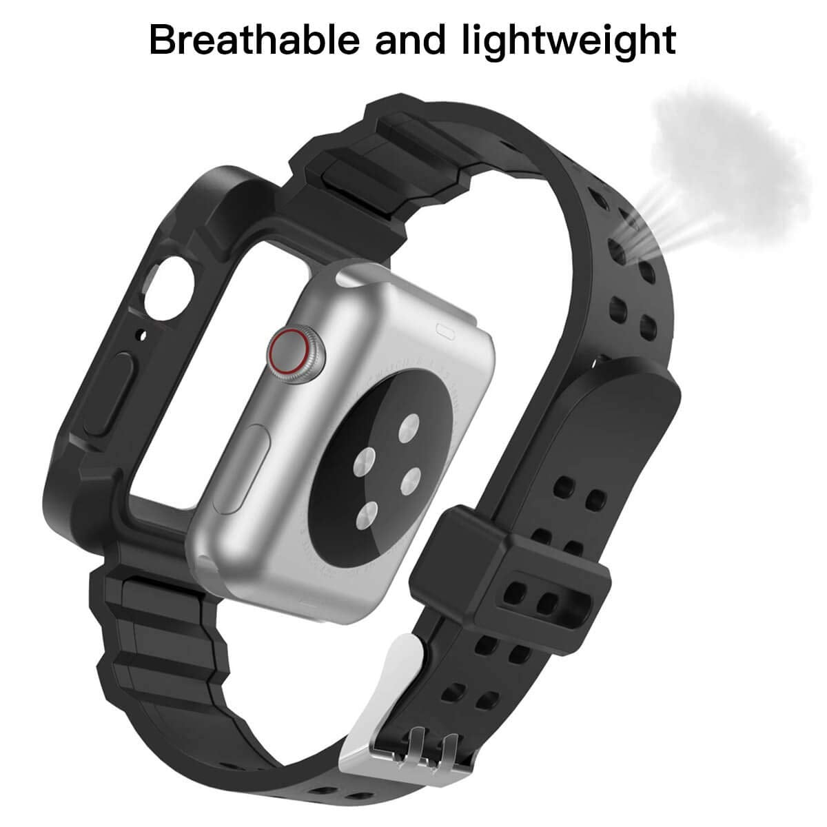 Protective Case + Strap for Apple Watch