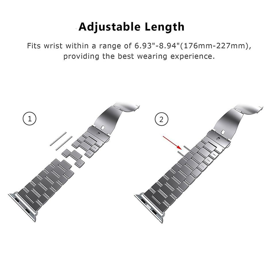 Stainless Steel Replacement Band for Apple Watch