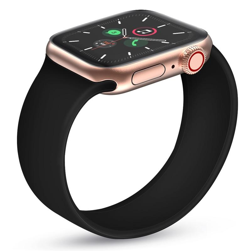 Super Soft Elastic Silicone Strap for Apple Watch