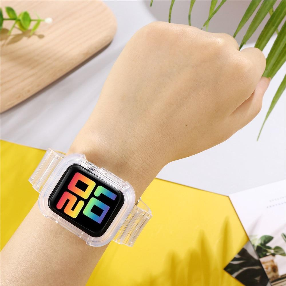 Transparent Silicone Strap for Apple Watch