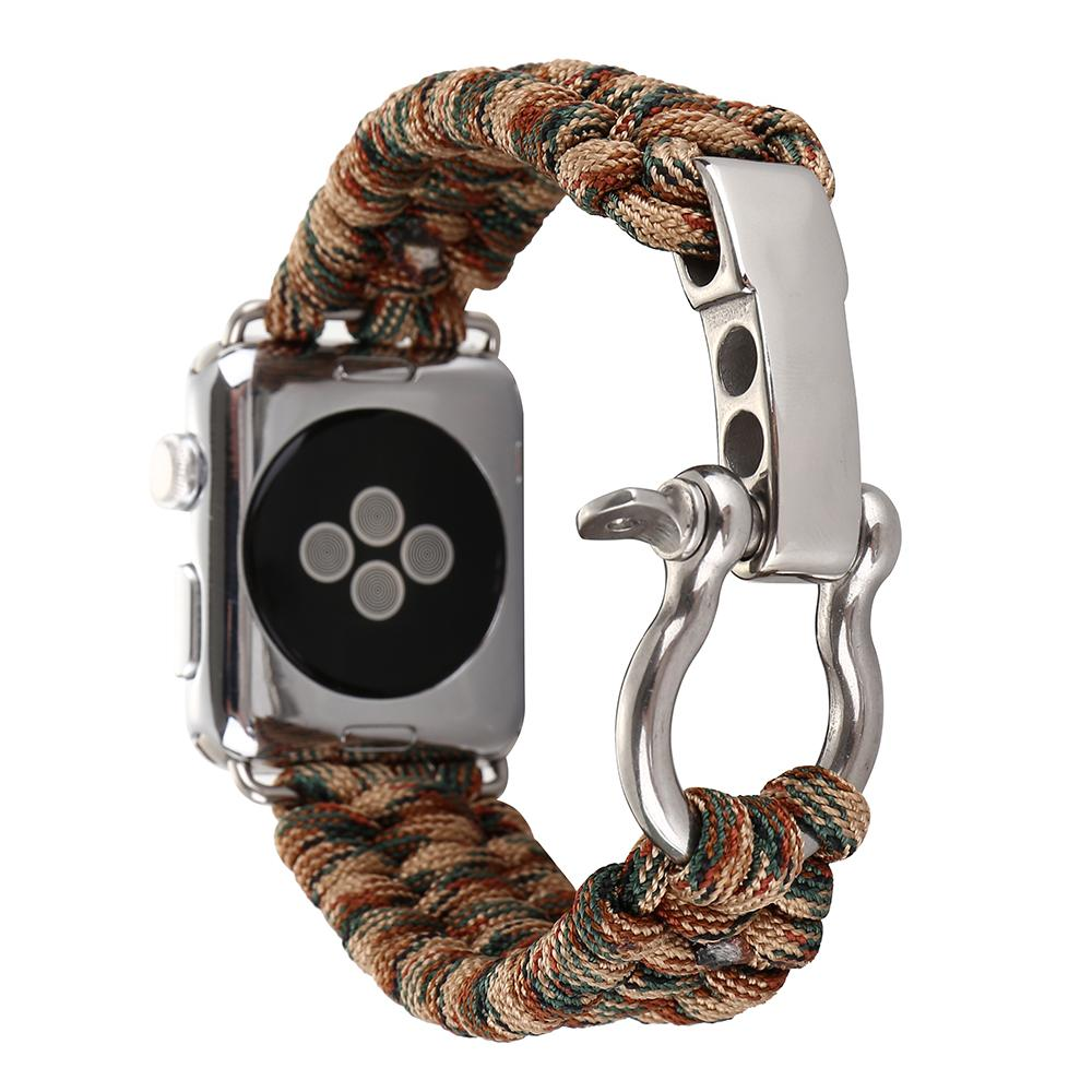 Woven Nylon Rope Strap for Apple Watch
