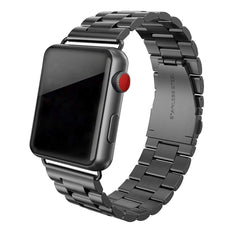 Stainless Steel 3 Beads Replacement Band for Apple Watch