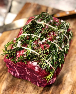 Top Sirloin Roast Recipe - An Easy and Impressive Roast for The Holidays!