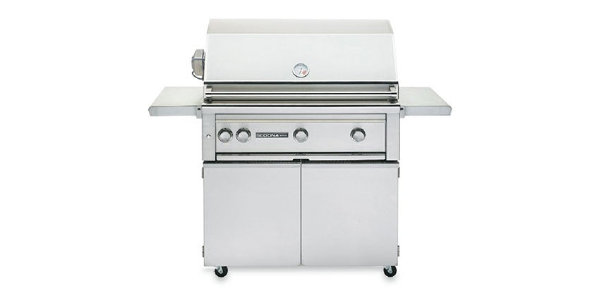 "36"" Freestanding Grill with ProSear & Rotisserie (L600PSFR) - The Organic Butcher of McLean"