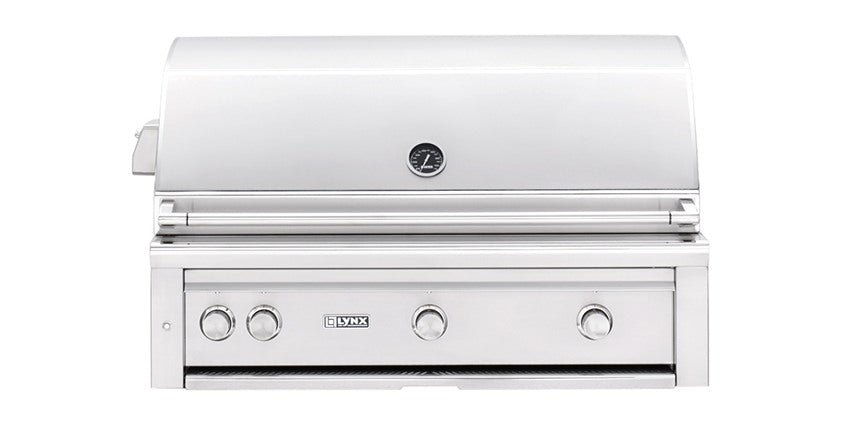 "42"" Built-in Grill with Trident™ Burner and Rotisserie (L42PSR-2) - The Organic Butcher of McLean"