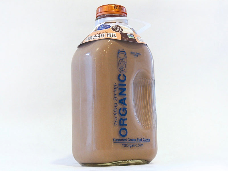 Grass Fed Chocolate Milk - 1/2 Gal. - The Organic Butcher of McLean