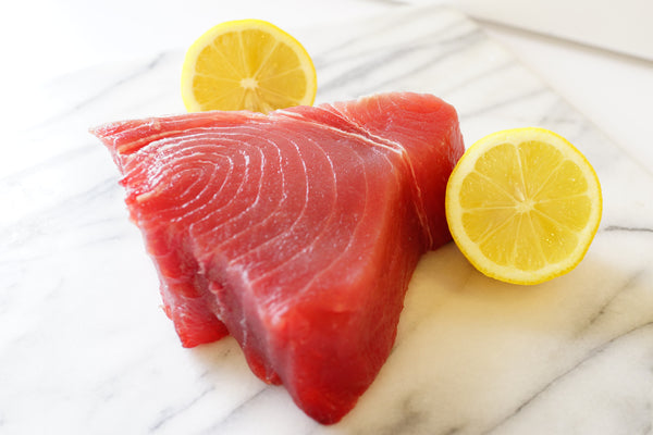 Sushi grade tuna steaks the organic butcher of mclean for Sushi grade fish