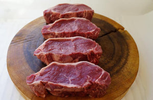 100% Grass-Fed New York Strip - The Organic Butcher of McLean