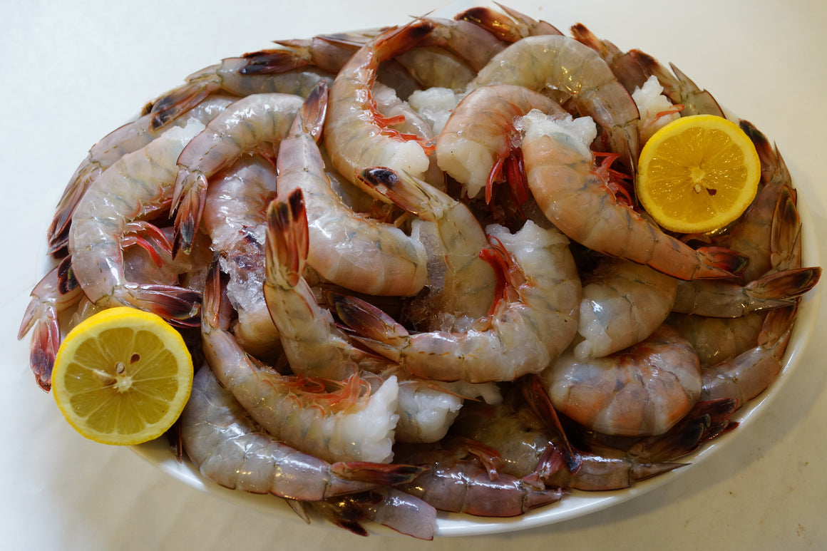 Domestic Shrimp 16/20 ct. - Shell-on - The Organic Butcher of McLean