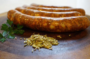 Hot Italian Sausage - The Organic Butcher of McLean