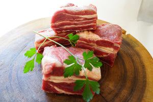 100% Grass-Fed Bone-In Beef Short Ribs - The Organic Butcher of McLean