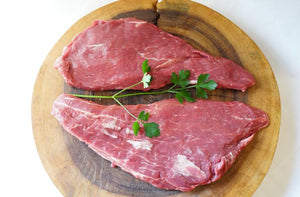 100% Grass-Fed Flat Iron - The Organic Butcher of McLean