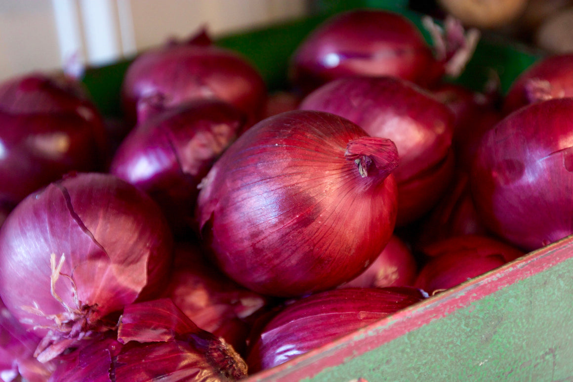 Organic Red Onion - The Organic Butcher of McLean