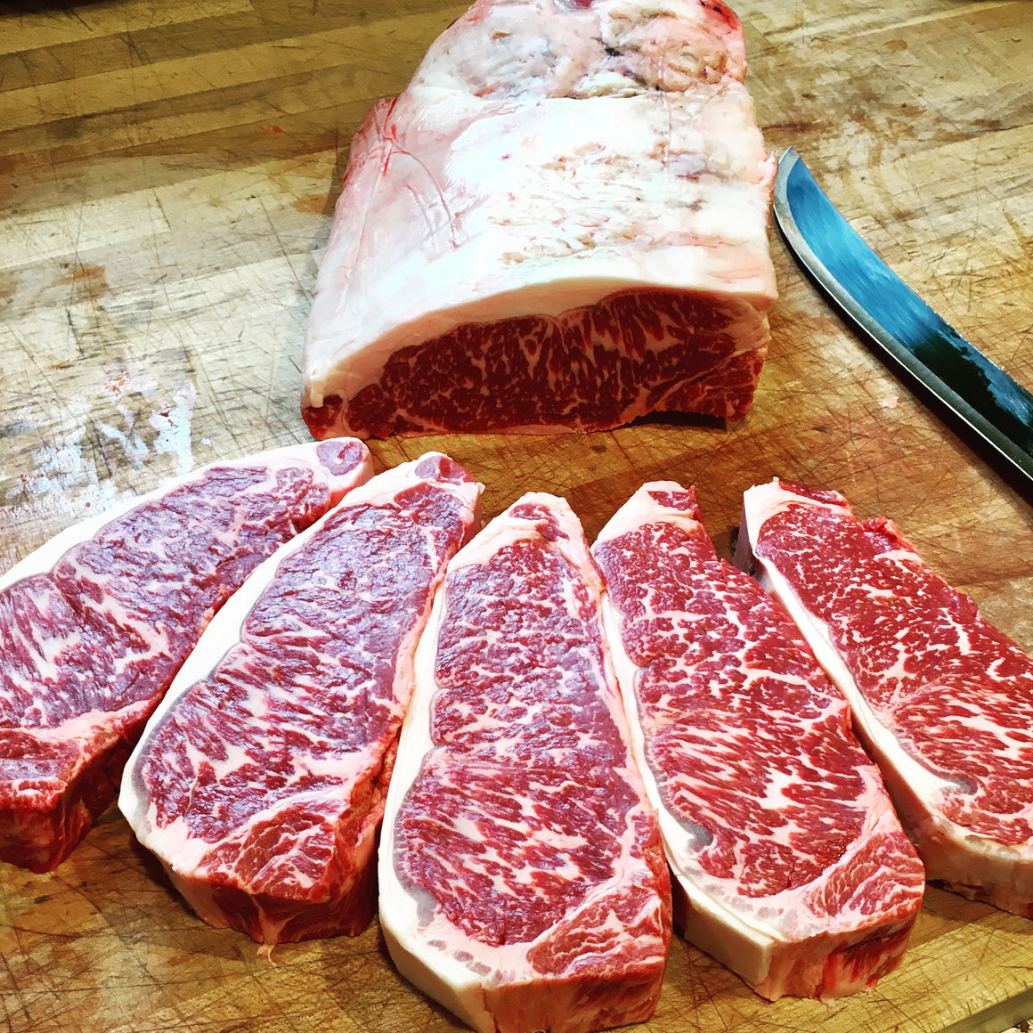 Wagyu New York Strip - The Organic Butcher of McLean