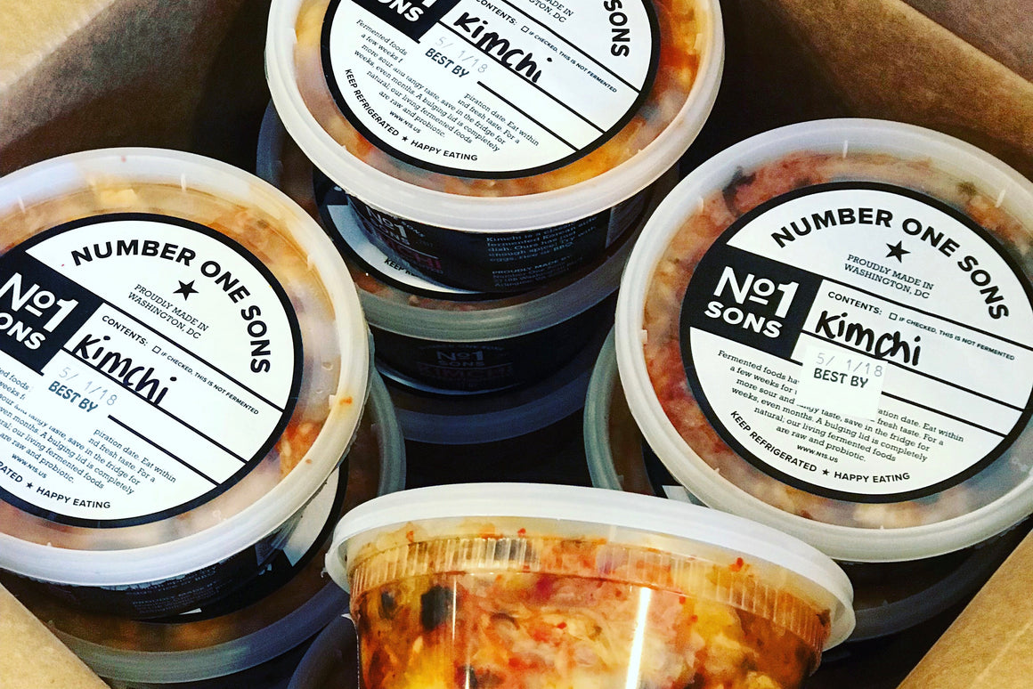 NO 1 Sons Kimchi - The Organic Butcher of McLean