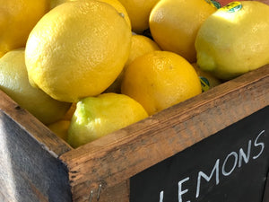Organic Lemons - The Organic Butcher of McLean