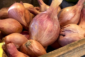 Organic Local French Shallots - The Organic Butcher of McLean