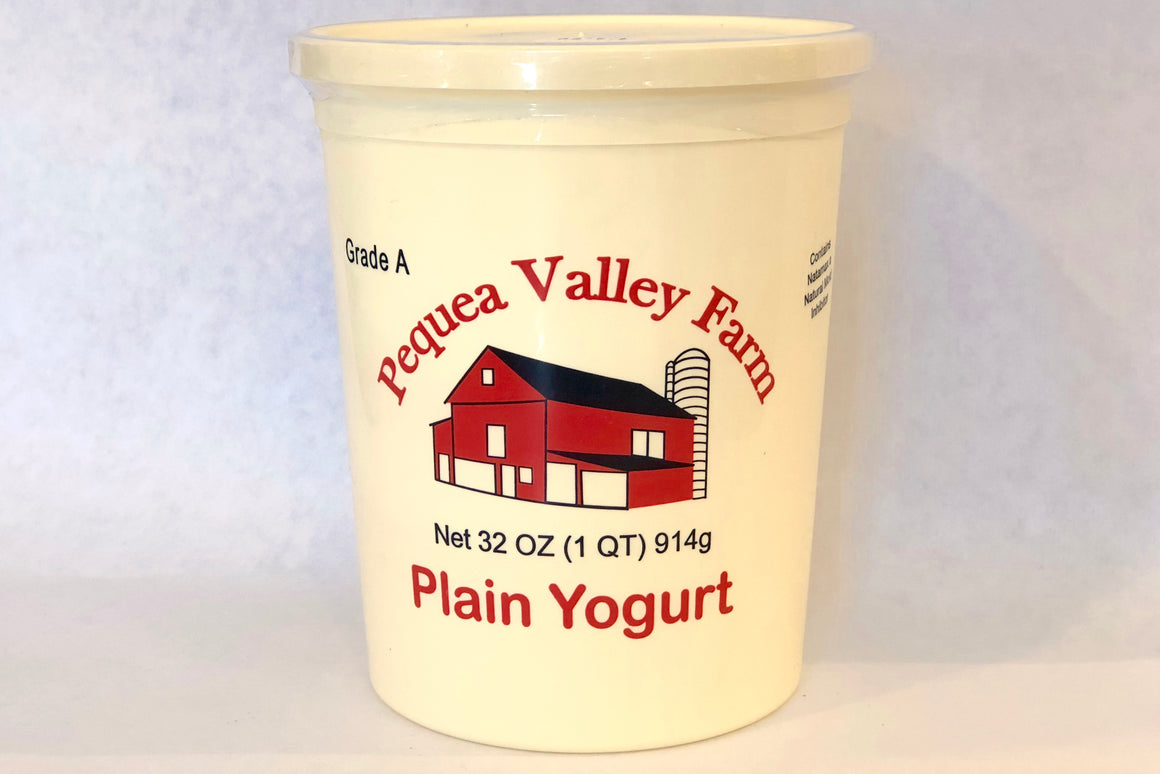 Pequea Valley Plain Yogurt - 1 qt - The Organic Butcher of McLean