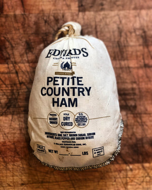 Edward's Smokehouse Petite Country Ham - The Organic Butcher of McLean