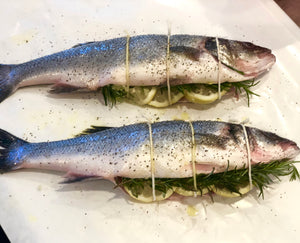 Whole Bronzino - The Organic Butcher of McLean