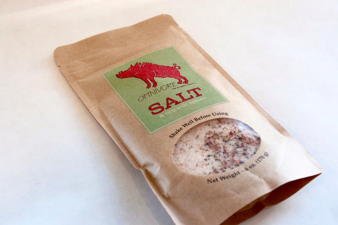 Omnivore Salt - The Organic Butcher of McLean