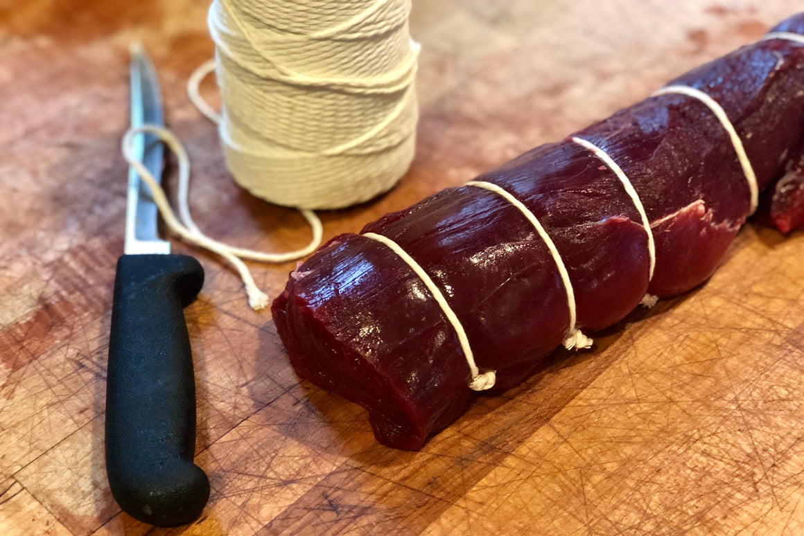 Elk Tenderloin - The Organic Butcher of McLean