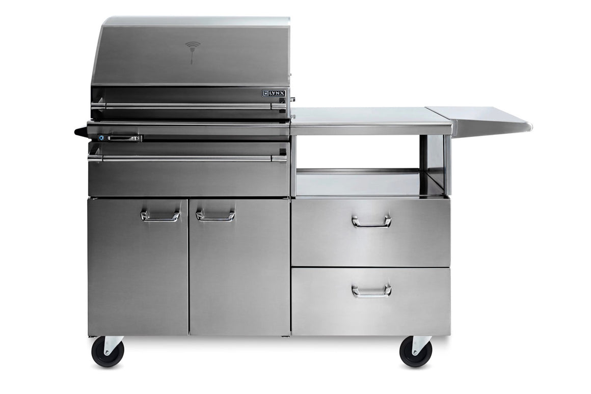 "30"" Sonoma Smart Smoker on Kitchen Cart- (LSMKM) - The Organic Butcher of McLean"
