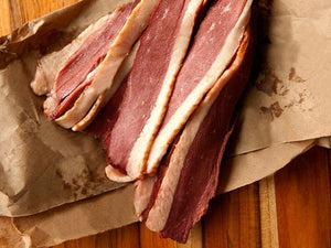 Uncured Smoked Duck Bacon - The Organic Butcher of McLean